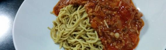 糖質制限ドットコムで購入した中華麺でミートスパゲティを作った結果…
