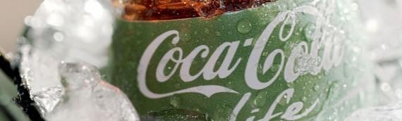 緑のコカ・コーラ ライフは健康か?成分表示を見てみた結果…